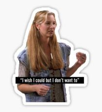 Phoebe Buffay Friends TV Show Sticker Friends Tv Quotes, Friend Memes, Friends Tv Show, Friends Phoebe, Tumbler Stickers, Meme Stickers, Phone Stickers, Homemade Stickers, Wallpaper Stickers