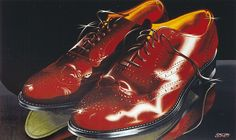 Ralf Schmidt|Schuhe | Acryl/Leinwand | 100 x 160 cm