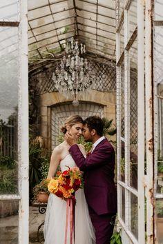 Elegant wedding portrait in greenhouse | Image by Through the Glass Paris. Garden Wedding Inspiration, Elopement Inspiration, Wedding Blog, Wedding Styles, Wedding Portraits, Wedding Photos, Bridesmaid Dresses, Wedding Dresses, Elegant Wedding