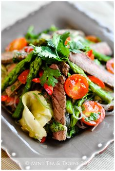 Thai Beef and Glass Noodle Salad