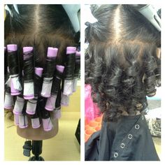 Spiral perm Spiral perm Sure, the bushy perms of the might be out of vogue, but there are teemin Permed Hairstyles, Braided Hairstyles, Curly Hair Styles, Natural Hair Styles, Afro, Air Dry Hair, Types Of Curls, Stylish Hair, Hair Dos