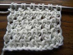Lots of Crochet Stitches by M. J. Joachim: Double Crochet Tunisian Knit Stitch Variation 101112