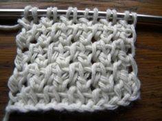 Lots of Crochet Stitches by M. J. Joachim: Double Crochet Tunisian Knit Stitch Variation 101112