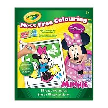 Crayola - Color Wonder Colouring Book - Minnie Mouse