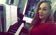 Where words fail music speaks  #piano #music #practise #makes #art #selfie #smile #blonde #happyface #sheetmusic #dutchgirl #the #keys #blackandwhite #sound #like #million #colors #inyour #mind #dontlisten #feel by aesmeraldaa