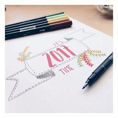 """1,305 curtidas, 14 comentários - Bullet journal  (@nuriavales) no Instagram: """"Se acabó lo que se daba, mañana vuelta a la realidad """""""