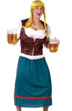 MISS OKTOBERBREAST ADULT COSTUME - 234275