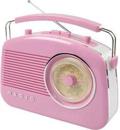 Retro radio, spletna trgovina DomIDEA #retro - zurnal24