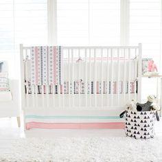 Wonderful Modern Baby Bedding For Nursery Interior Pinterest