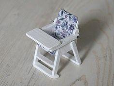 Видео мастер-класс: делаем миниатюрный стульчик для кормления - Ярмарка Мастеров - ручная работа, handmade