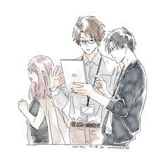 Character Design Teen, Character Design References, Character Art, Anime Drawings Sketches, Kawaii Drawings, Anime Kunst, Anime Art, Sad Anime, Cute Couple Art