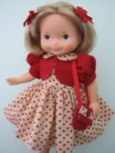 Sweetheart 4pc Outfit for Your Fisher Price My Friend Mandy Jenny Becky Doll | eBay