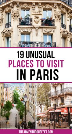 Traveling to Paris? Here are the unusual things not to miss.  Hidden gems in Paris   Non touristy things to do in Paris   Unusual things to do in Paris  lesser-known things to do in Paris   Secret spots to visit in Paris   Off the beaten places in Paris  places to visit in Paris   Paris unusual things to do   Paris hidden gems   best-hidden gems in Paris  paris secret places   best secret places in Paris  hidden spots in Paris Paris Tips, Paris Travel Tips, Paris Hidden Gems, Day Trip From Paris, Christmas In Paris, Romantic Things To Do, Easy Day, Paris Paris, Unusual Things