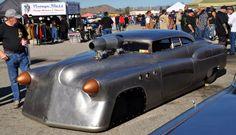Brock's Bombshell Betty Buick, Bonneville speed record setting.