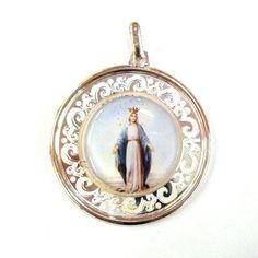 Medalla de la Milagrosa en plata 30.80€