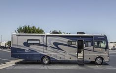 photos of a fleetwood bounder exterior paint job - Google Search Job Pictures, Photos, Fleetwood Bounder, Exterior Paint, Motorhome, Recreational Vehicles, Google Search, Painting, Style