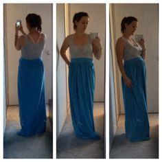 My DIY maternity dress
