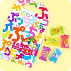 Buy Uha Puccho Ultra Miracle Fruits Japanese Chewy Candy Grab Bag at Tofu Cute
