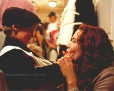 Titanic Behind the Scenes- Cute, I love this!