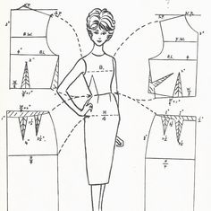 PATTERNLESS FASHIONS Vintage Pattern by SewingWithMissDandy, $6.00