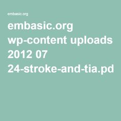 embasic.org wp-content uploads 2012 07 24-stroke-and-tia.pdf