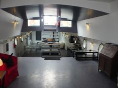 interior houseboat france