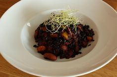 REISHUNGER Schwarzer Reis mit roten Bohnen #reishunger #schwarzerreis #bohnen #vegetarian