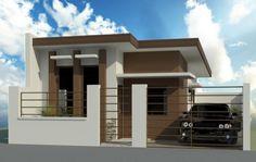 Philippine new home design house design bungalow house design new Modern Bungalow House Design, Modern Small House Design, Small Bungalow, Minimalist House Design, Modern House Plans, Small House Plans, Style At Home, Philippines House Design, Philippine Houses