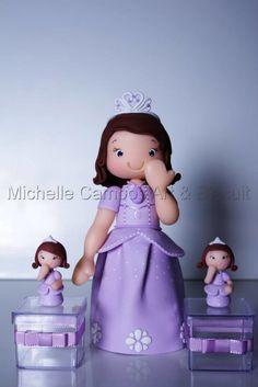 Lembrancinha Princesinha Sofia
