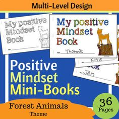 Help Students Build A Positive Growth Mindset While Creating Lasting Mini Book Of