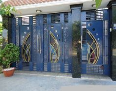 1 new message Home Gate Design, Gate Wall Design, Grill Gate Design, House Main Gates Design, Front Door Design Wood, Steel Gate Design, Front Gate Design, Door Design Images, House Design Pictures