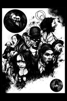 Dickens Dark London app is an interactive graphic novel, illustrated by the frankly brilliant David Foldvari