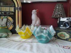 Hankerchief vases from eyecandy vintage