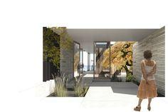 PERSPECTIVE - MW Works - blueridge residence rendering