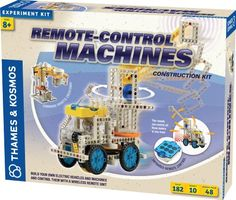 Thames & Kosmos offer the best Thames & Kosmos Remote Control Machines. This awesome product currently 43 unit available, you can buy it now for  $59.01