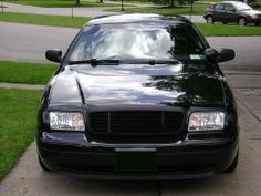 Crown Victoria with Black Billet Grille by GenX Trims