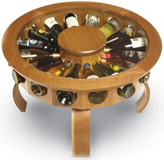 great wine rack table