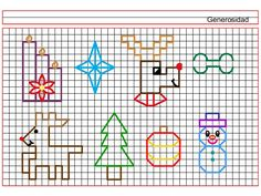 Graph Paper Drawings, Graph Paper Art, Doodle Drawings, Back Stitch, Cross Stitch, Symmetry Worksheets, Math Art, Miraclous Ladybug, Learn To Draw