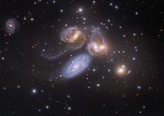 NASA's Astronomy Picture Of The Day: Stephan's Quintet Plus One