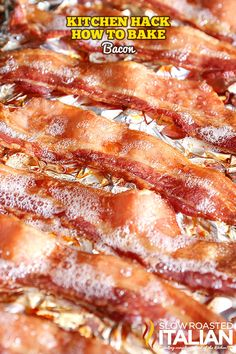 Kitchen Hack: How to Bake Bacon