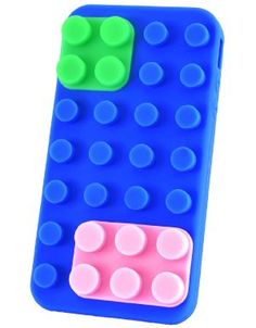 Blue Lego Cell Phone Case