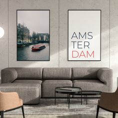 Travel photographic posters with a boat sailing in calm and beautiful canals of Amsterdam. Amsterdam is the Netherlands' capital, known for its artistic heritage, elaborate canal system and narrow houses with gabled facades. Compliment your living room, office or favorite space with the Montserrat minimalist poster. BUY IT now or offer it as a perfect gift to your minimalism lover friend. Narrow House, Amsterdam Travel, Minimalist Poster, Lovers And Friends, Facades, Travel Posters, Netherlands, Holland, Scandinavian