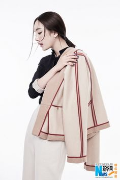 Chinese actress Yang Mi  http://www.chinaentertainmentnews.com/2015/12/yang-mi-covers-fashion-magazine.html