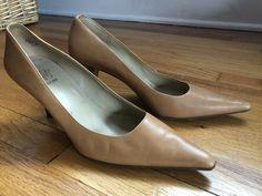 b46e707a961 Circa Joan  amp  David Camel Pumps Size 8.5  fashion  clothing  shoes