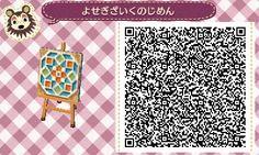 Animal Crossing: New Leaf & HHD QR Code Paths  Flower Tiles #3<---