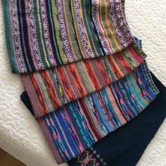 Pyllytin on syksyn hulvattomin käsityö   Meillä kotona Make Your Own, How To Make, Plaid Scarf, Knit Crochet, Socks, Diy Crafts, Knitting, Inspiration, Accessories