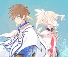 Tales of Zestiria Sorey and Alisha