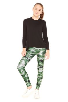 cdc8bd1f4f72a Girls Star Wars We Should All Be Rebels Leggings by Terez in 2018 ...