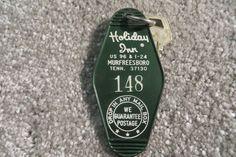 Holiday Inn Murfreesboro Tennessee Hotel key and fob Room 148