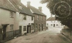 The Stag Inn, New Alresford (left), with the Globe beyond.